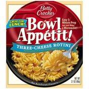 Betty Crocker Three-Cheese Rotini Bowl Appetit!