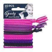 Goody Ouchless Ribbon Elastics - 10 CT