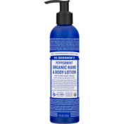 Dr. Bronner's Organic Hand & Body Lotion Peppermint