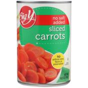 Big Y No Salt Added Sliced Carrots