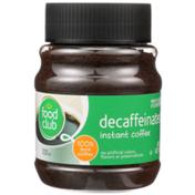 Food Club Decaffeinated 100% Instant Coffee