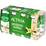Activia Probiotic Dailies Vanilla Lowfat Yogurt Drinks