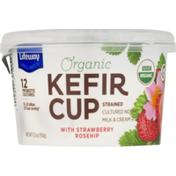 Lifeway Organic Kefir Cup with Strawberry Rosehip