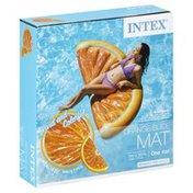 Intex Mat, Orange Slice, Adults