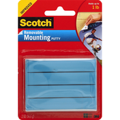Scotch Mounting Putty, Removable