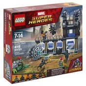 LEGO Building Toy, Avengers, Corvus Glaive Thresher Attack