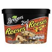 Breyers Frozen Dairy Dessert 2in1 Reese's Reese's Pieces