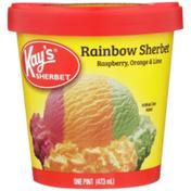 Kay's Rainbow Raspberry, Orange & Lime Sherbet