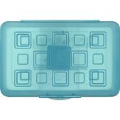Sterilite Pencil Box, Molokai Blue Tint