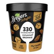 Breyers Reduced Fat Ice Cream Caramel Brownie