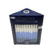 Shulsinger Blue & White Premium Chanukah Candles