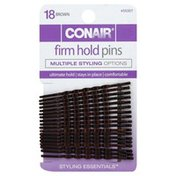 Conair Firm Hold Pins, Brown