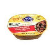 Nature's Recipe Culinary Favorites Real Beef & Garden Vegetables In Gravy Cat Food