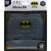 bumkins Bib, Silicone, Batman