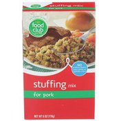 Food Club Stuffing Mix, for Pork