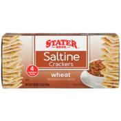 Stater Bros Wheat Saltine Crackers
