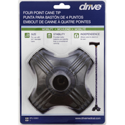 Drive Four Point Cane Tip
