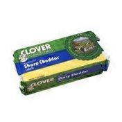 Clover Stornetta Sharp Cheddar Cheese