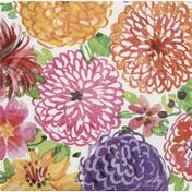 Unique Napkins, Painted Spring Floral, 2 Ply