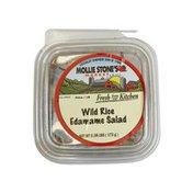 Wild Rice & Edamame Salad