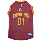 Pets First Extra Large NBA Cleveland Cavaliers Pet Jersey