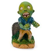 Penn-Plax Zombie Walking Through Tombstones Resin Ornament