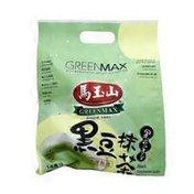 Greenmax Black Soybean With Matcha Powder Green Tea Drink Beverage