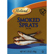 Roland Smoked Sprats in Oil