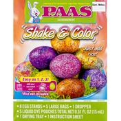 PAAS Egg Decorating Kit, Shake & Color