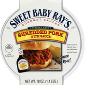 Sweet Baby Ray's Shredded Pork, with Sauce