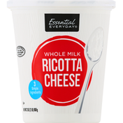Essential Everyday Ricotta Cheese, Whole Milk