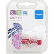 MAM Pacifier Clip, 0+ Months