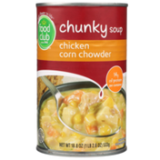 Food Club Chicken Corn Chowder Chunky Soup