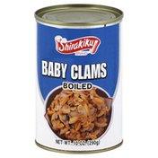 Shirakiku Baby Clams, Boiled
