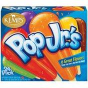 Kemps Orange Grape Cherry Root Beer Lime & Banana Pop Jr.'s