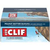 CLIF BAR Peanut Butter Banana with Dark Chocolate Energy Bars