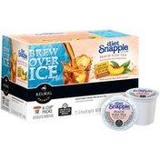 Snapple Diet Peach Iced K-Cup Packs Tea