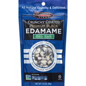 Seapoint Farms Edamame, Premium Black, Crunchy Coated, Sea Salt