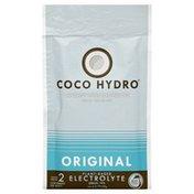 Coco Hydro Electrolytes, Coconut Water, Original, Vegan, Pouch