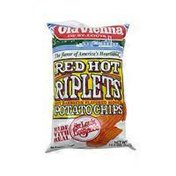 Old Vienna Red Hot Riplets Potato Chips