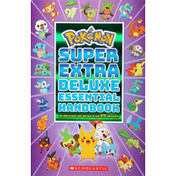 Pokemon Essential Handbook, Deluxe, Super Extra