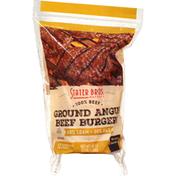 Stater Bros. Markets Ground Beef Burger, 80%/20%, Angus