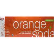 Hannaford Orange Soda