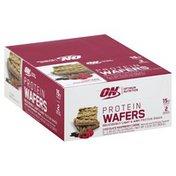 BSN Protein Wafers, Chocolate Raspberry Creme