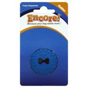 Encore Treat Dispenser, Ball, Rubber, Small