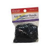 Annie's Black Rubber Bands