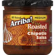 Arriba! Salsa, Fire Roasted Mexican Chipotle, Medium
