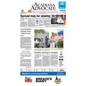 Acadiana Advocate Wednesday Newspaper