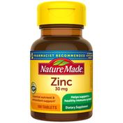 Nature Made Zinc (Gluconate) 30 mg Tablets