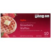 Hy-Vee Strawberry Waffles